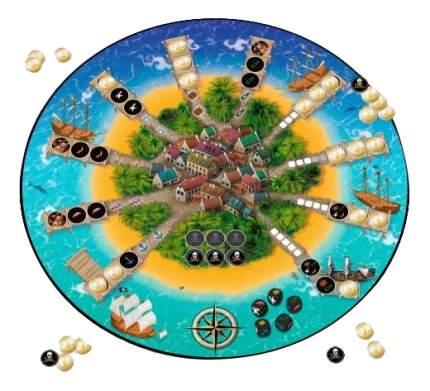 Экономическая настольная игра Tactic games Золотая армада