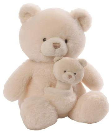 Мягкая игрушка Gund Oh So Soft Bear & Rattle Combo 28 см