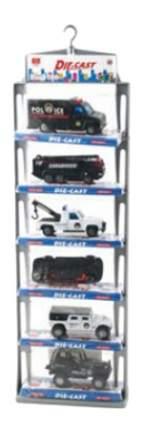 Набор металлических машинок Die Cast Police Shenzhen Toys А33198