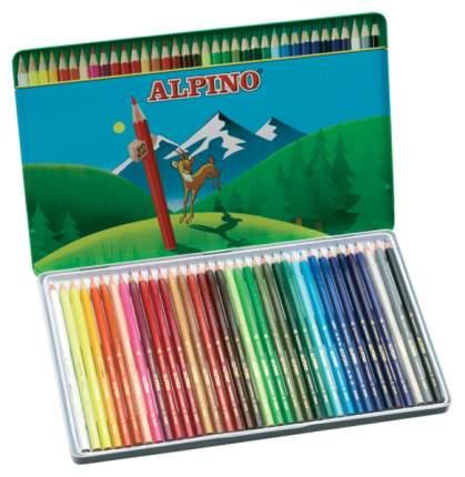 Цветные карандаши Alpino шестигранные 36 цветов