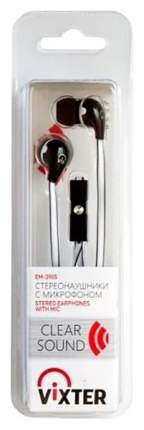 Наушники VIXTER EM-3905 White/Black