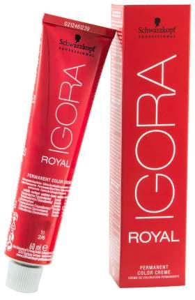 Краска для волос Schwarzkopf Professional Igora Royal 6-6 Темно-русый шоколадный 60 мл