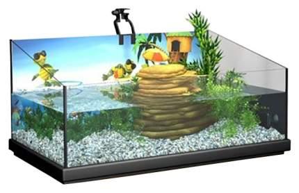Палюдариум для рептилий, для черепах Tetra Repto AquaSet, 76 x 37 x 38 см