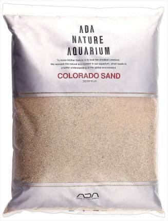 Натуральный песок для аквариумов ADA Colorado sand, бежевый, 8 кг, 7,988 л