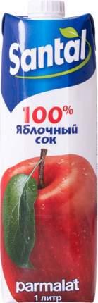 Сок Santal яблочный осветленный 1 л