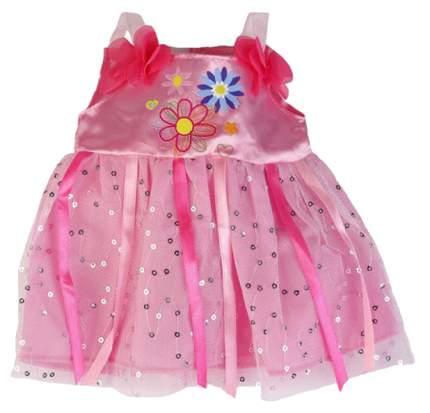 Одежда для кукол 40-42 см Карапуз платье с лентами