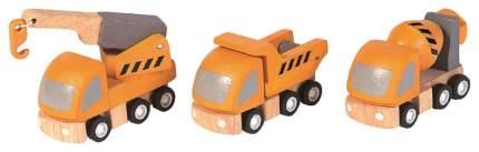 Набор пластиковых машинок Plan Toys Спецтранс 6047