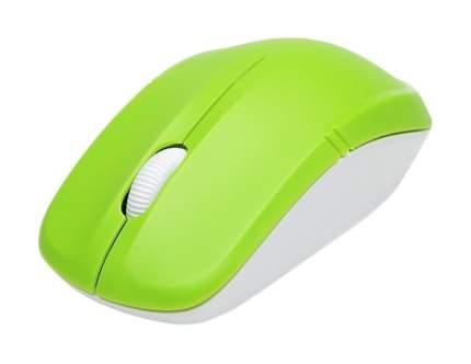 Беспроводная мышка Delux M136 White/Green