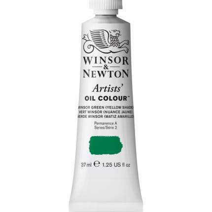 Масляная краска Winsor&Newton Artists винзор зеленый 37 мл