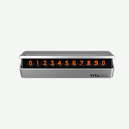 Парковочная карта Xiaomi BCASE TITA Temporary Parking Card White TITA-W