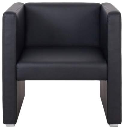 Кресло для гостиной Мебелик Бриф 1345, черный