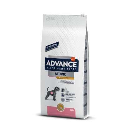 Сухой корм для собак Advance, при дерматозах и аллергии, беззерновой, кролик, 12 кг