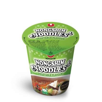 Лапша быстрого приготовления Nongshim с овощами стакан 65 г