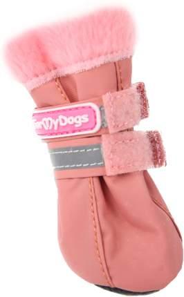 Сапоги для собак FOR MY DOGS, розовые, FMD640-2019 P 2