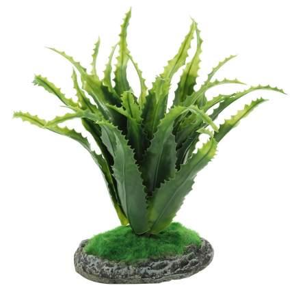 Искусственное растение для террариума Repti-Zoo Алоэ 20 см, пластик