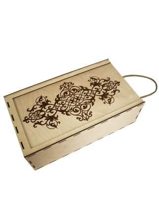 Подарочная упаковка Канышевы пенал с джутовой ручкой бежевый ПУ481-00-0000
