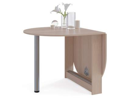 Кухонный стол СОКОЛ СП-12 86-154,8х90х74 см беленый дуб