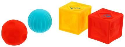 Игрушки для ванны «Кубики и мячики 1», набор 4 шт. Крошка Я