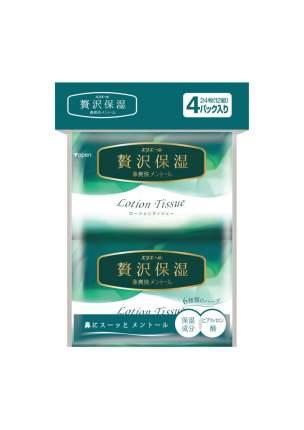 Салфетки Elleair Lotion Tissue Mentol бумажные платочки 56 штук