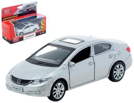 Машина металлическая инерционная Honda Civic, цвет серебристый, 12 см Технопарк