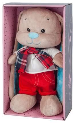 Мягкая игрушка Jack&Lin Зайка в красных штанишках, 25 см JL-011-25-КСО