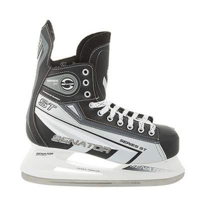 Коньки хоккейные Спортивная Коллекция Senator ST, черный, 36 RU