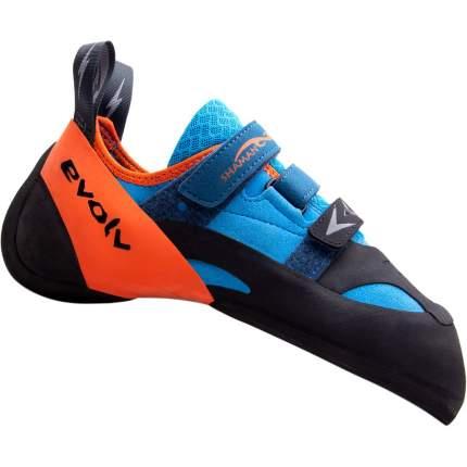 Скальные туфли Evolv Shaman Climbing, orange/blue, 8 US