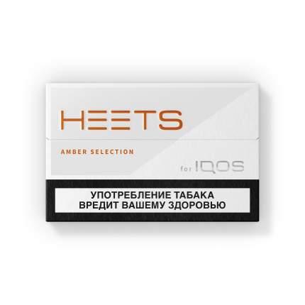Стики HEETS Amber Selection оранжевый