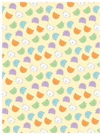 Плед-покрывало Baby Nice Разноцветные кошки 100x118
