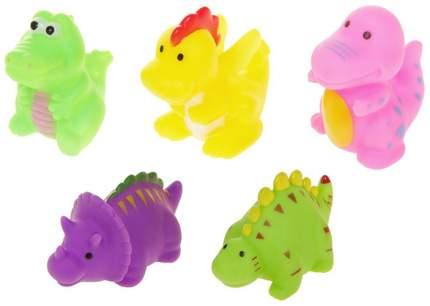 """Набор из 5 игрушек для ванны """"Динозаврики-1"""" Крошка Я"""