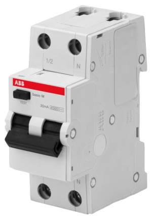 Выключатель автоматический Basic M, BMR415C16, 1P+N, 16 А, C, 4,5 kA, 30 мA, AC