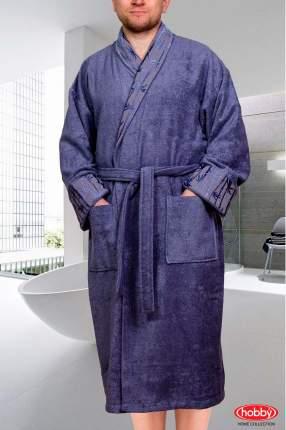 Банный халат HOBBY home collection Eliza серый L