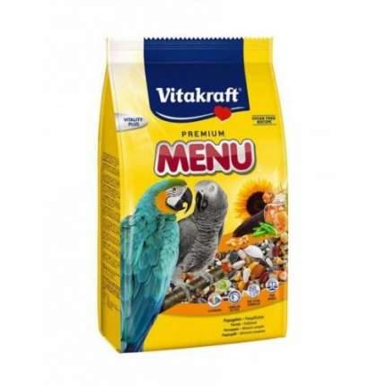 Основной корм Vitakraft MENU для крупных попугаев 1000 г
