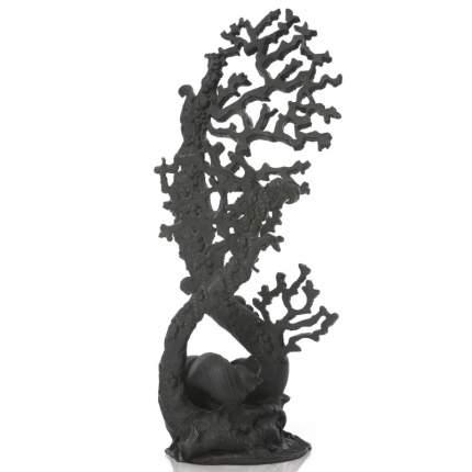 Искусственный коралл biOrb Fan coral ornament, черный, 18х17.5х41 см
