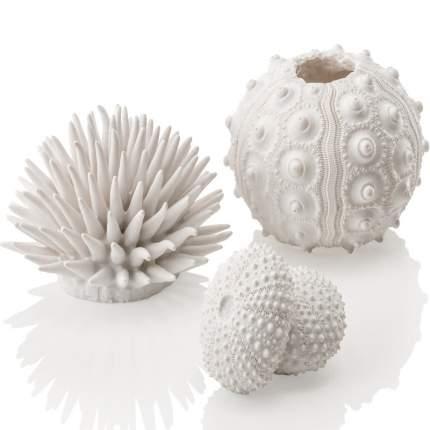 Набор декоративных элементов для аквариума biOrb Морской еж, белый, 16х5х35см