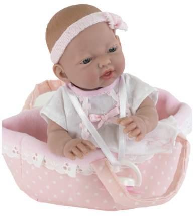 Пупс Nines d'Onil Новорожденная малышка, в люльке