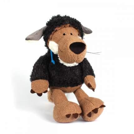 Игрушка мягкая Animal World Волк в овечьей шкуре, черный, 35 см