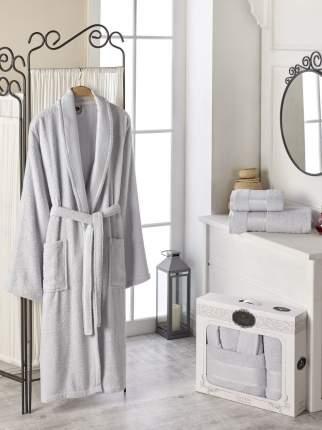 Банный комплект с халатом DO'n'CO Joshua Цвет: Серый (xxL)