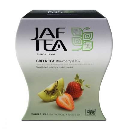 Чай Jaf Tea Strawberry Kiwi зеленый с клубникой и киви 100 г