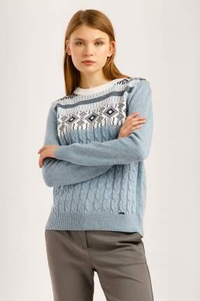 Джемпер женский Finn Flare W19-12110 синий L