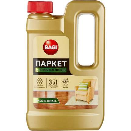 Средство для мытья полов Bagi паркет 550 мл