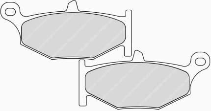 Тормозные колодки задние Ferodo FDB2213P для мотоциклов
