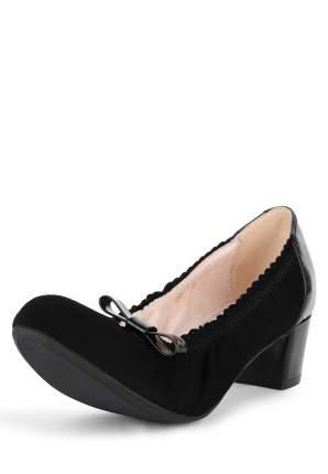 Туфли женские Alessio Nesca 710017865 черные 38 RU