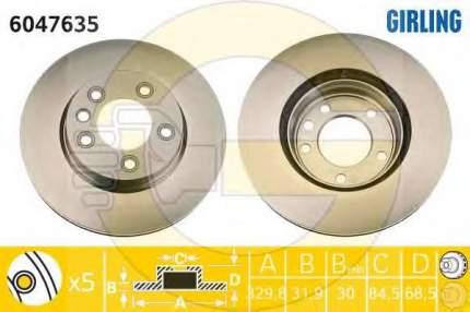 Тормозной диск GIRLING 6047635