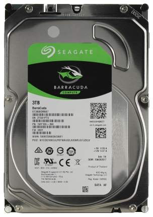 Внутренний жесткий диск Seagate BarraCuda 3TB (ST3000DM007)
