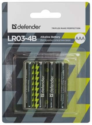 Батарейка Defender LR03-4B 4 шт