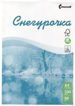 Бумага для принтеров Снегурочка Белый 500 листов