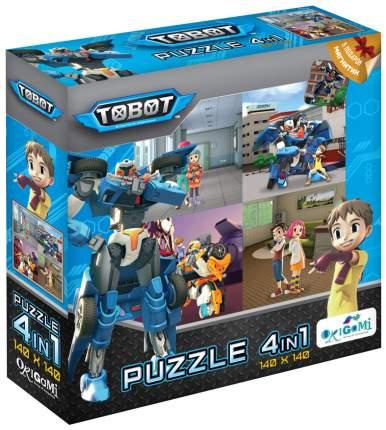 Пазлы Origami Любимые герои Тоботы Защитники с магнитом 04232