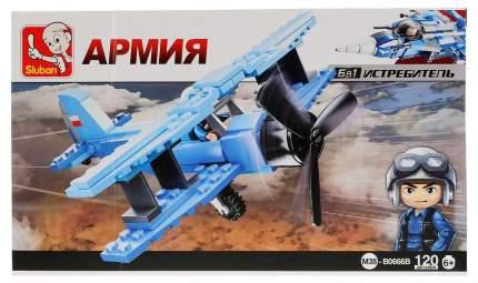 Конструктор пластиковый Sluban Военный самолет M38-B0666B
