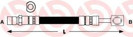 Шланг тормозной системы Brembo T59009